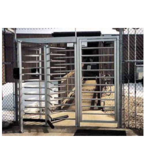 Security Turnstile with Handicap Gate